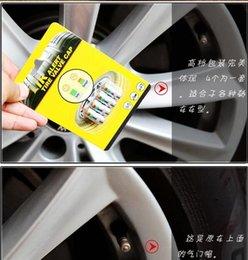 Wholesale Car automobile pickup pressure Detection cap tyre airgauge warning device Visual valve gas nozzle caps suction nozzle