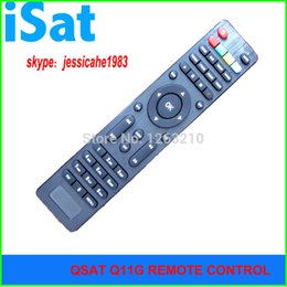 FREE SHIPPING QSAT Q SAT Q11G Q13GQ15G Q23G GPRS dongle Decoder DVB-S2 remote control for Africa