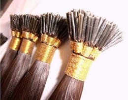 "wholesale- 0.5g s 300s pack 14''- 24"" Keratin Stick I Tip Human Indian Hair Extensions hair 30# light auburn dhl Fast shipping"
