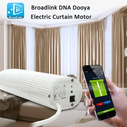 Wholesale Curtains Motors - Broadlink DNA Dooya Electric Curtain Motor WIFI Remote Control IOS Android For Smart Home etc