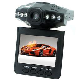 2017 cámaras de guión recuadro negro 2.5 '' Dash levas del coche sistema de cámara grabadora DVR coche negro cuadro de la versión H198 noche grabador de vídeo cámara de la rociada 6 IR LED barato cámaras de guión recuadro negro