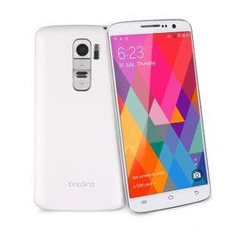 Wholesale Original Kingsing S2 Smartphone MTK6582 Quad Core inch Android QHD x540 GB GB Heart Rate Sensor GPS G Unlocked Cell Phones