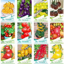 12 KINDS 290 TOMATO SEEDS Cherokee Purple Black Red Yellow Green Cherry Peach Pear Tomato Non-GMO Organic Food