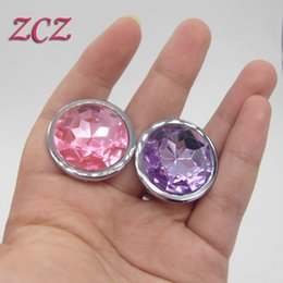 Wholesale 100 Real Photo Stimulus Anal Butt Plug Sex Toys For Adult Erotic Booty Beads Steel Jewelry Spiral Desing Random Send SX198