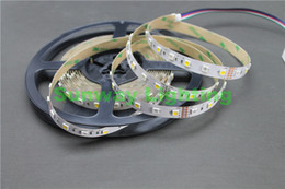 5M 5050 SMD RGB White LED Strip RGBW RGBWW Flex LED Light strips 5M 300LEDS Waterproof Tube Silica 12V DC Christmas Holiday lights