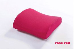 Wholesale Space memory pillow Memory cotton back cushion car waist cushion for leaning on automotive cushion