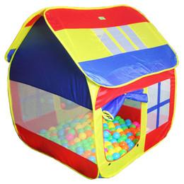 2017 altos tiendas de campaña Tamaño grande 126cm alto de juguete para niños Tiendas de campaña para niños tiendas de juguetes de juguete del niño Carpa cubierta al aire libre Beach Play House presupuesto altos tiendas de campaña