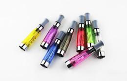 50pcs Electronic Cigarette Ego Ce4 Atomizer Clearomizer Cartomizer 1.6ml eGo T CE4 Ce5 Ce9 Cartomizer Colorful E-Cigarette Clearomizer