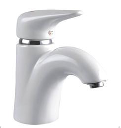 High temperature ceramic water saving bathroom faucet