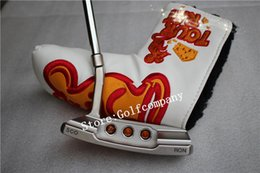 Wholesale CNC silver putters the newest golf putter circle T concept Rat Tour putter with weights removable prototype putter golf clubs men