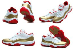 Wholesale With Box High Quality Retro XI Two Rings Ray Allen PE Men Basketball Sport low Sneakers Trainers Shoes All Size