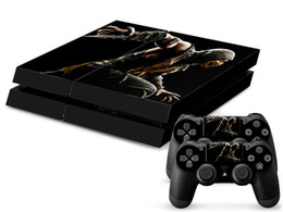 New Arrive Mortal Kombat X front&back Vinyl Decal PS4 Skin Stickers Protector For Sony PlayStation 4 PS4 Console and 2 Controllers
