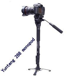 Wholesale Camera Tripods Yunteng monopod Unipod Holder Professional Photography tripod For Canon Eos Nikon DSLR VCT