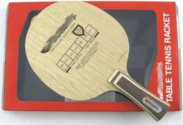 Wholesale Korbel table tennis blade pingpong bats base for ping pong racket paddles Long handle