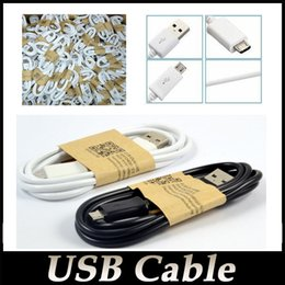 Wholesale For Samsung S6 S4 Micro USB Cable Note Micro USB m Sync Data Cable Charging Charger Cable adapter Wire HTC
