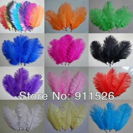 Wholesale prices lot15 cm inch length ostrich feathers for wedding decor