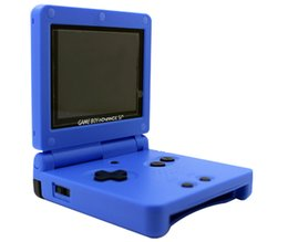 Wholesale MOGIS GBA handheld game consoles inch clamshell GBA games games handheld rechargeable clamshell design arcade