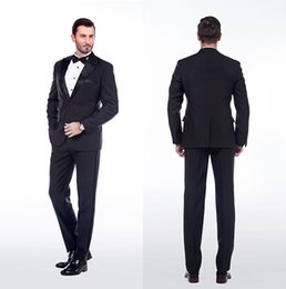 Mens Black Pinstripe Suit Cheap Online | Mens Black Pinstripe Suit