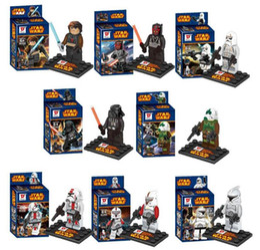 Wholesale New Star Wars Jedi Knight Building Blocks Styles Star Wars Star Soldier DIY Bricks Toys