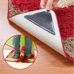 Wholesale RUGGIES Rug Grippers Stick Triangle Anti Slip PU Mats Powerful Silica Gel Strong Magic Pad for Rug DHgate VIP seller