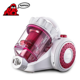 Wholesale PUPPYOO Best Selling Ultra quiet Domestic mites Vacuum Cleaner For Home Mini Aspirator Powerful Suction Dust Collector D