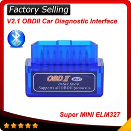 2016 V2.1 Super Mini ELM327 Bluetooth Interface obdii obd ii Diagnostic Tool elm 327 works on Android Windows Symbian