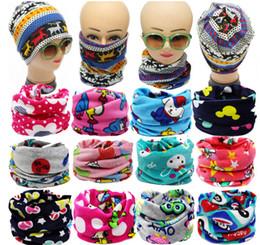 2016 spring Winter Children Cartoon Scarf Kids Baby Woolen Thicken Keep Warm Scarves Girl Boy Wraps Multicolor Twist cap