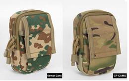 Mini EDC Waist Pack Expanded Molle Bags Accessories Small Work Tactical Mobile Phone Waist Bag 1000D nylon YKK zipper