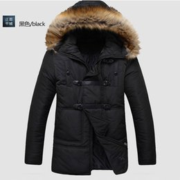 Wholesale Fall Men s super warm cold winter coat down jacket parkas mens male outdoors play basketball long jacket coat plus size XL for men