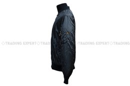 Wholesale Fall Alpha Industries Flight MA Light Waterproof Zipper Jacket Black