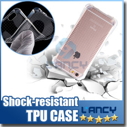 Wholesale 2016 New air bag Case for iphone Samsung S7 air Cushion Ultra Slim Flexible TPU Cover With Shockproof Protective Cushion Corner
