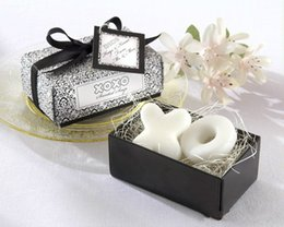 Wholesale Wedding Favors Creative Scented Soaps Mini Cute quot XO quot Style Soap Baby Shower Soaps Handmade Soap Guest Gifts Box