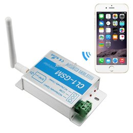 Wholesale Remote GSM controller SMS call relay switch gate opener water pump motor home appliances on off control