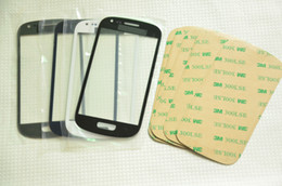 Replacement s3 mini outer glass for samsung lcd touch screen digitizer front glass lens