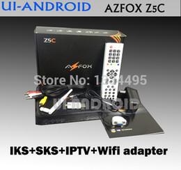 Wholesale azfox wifi AZFOX Z5C azfox z5s topfree z5s IKS SKS better azfox s2s and azfox s3s in stock nagara3 azfox dongle