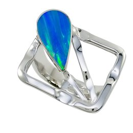 Tapered fancy Japanese opal 925 silver ring in available size 6 7 8 9 unadjustable ring stunning design for R6515