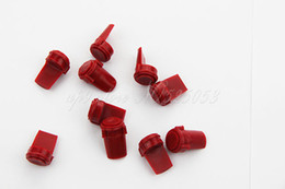 10 PCS Hunting Tactical Red Accu Wedge Model 4   15 .223 5.56mm Rubber Body