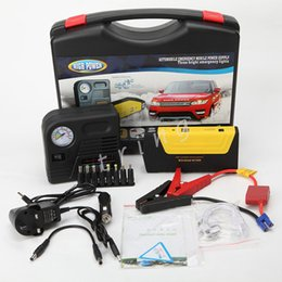 Wholesale High Quality Multi Function Car Jump Starter mah With Air Compressor Portable Car Battery Jump Start Power Pack