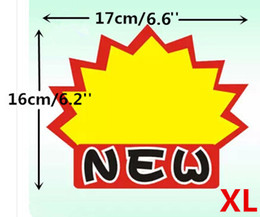 Wholesale POP Advertising Promotion Poster Explosion Sign Paper Price Label Tag Onsale Card XL In Retail Store LGAXL
