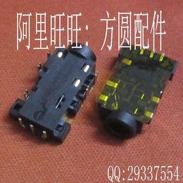 Wholesale Original New mm Headset Headphone Jack Pins Phone Socket Port for Asus X32U Etc Laptop Audio Connector