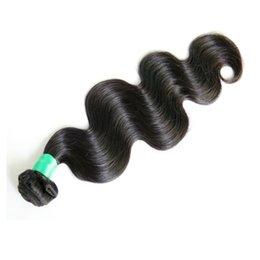7A Brazilian Virgin Hair Body Wave Weft Hair Weave Extensions Full Head Natural Color Dyeable Bleachable Unprocessed No Shedding 1pcs Lot