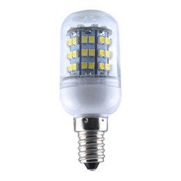 Wholesale FS Hot E14 SMD LED LM Corn Light K Halogen W