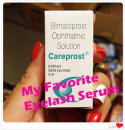 Wholesale Bimatoprost Ophthalmic Solution Generic Latisse SEALED Authentic CAREPROST EYELASH GROWTH SERUM LIQUID Eyelashes Eyebrow Grower Eyelash