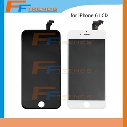 """White Black LCD Display Touch Digitizer Complete Screen with Frame Full Assembly Replacement for iPhone 6 4.7inch 4.7"""""""