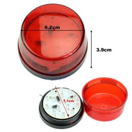 Wholesale LED V Security Alarm Strobe Signal Warning Blue Red Yellow Flashing Light