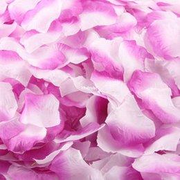 Wholesale 5000pcs Silk Artificial Flowers artificial petals Artificial flower rose petals romantic wedding essential furniture factory d