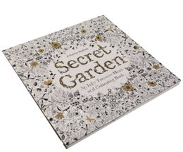 Wholesale Hot Amazon Secret Garden Book Johanna Secret Relax Toy Drawing Pattern in Garden Adults Secret Painting Garden