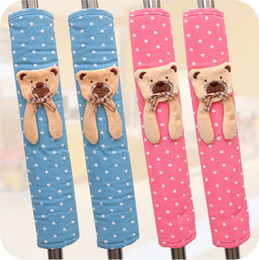 Wholesale Fridge Magnets Romantic quality fabric refrigerator handle gloves door handle sets a pair cover freeshipping CYB59