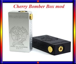 Wholesale CHERRY BOMBER Mechanical Mod Connector fit double Battery for GS Air tank smok tfv4 tank VS IStick w w
