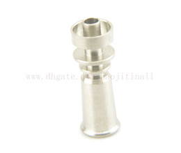 2015 New Titanium Nail domeless-Direct inject design fits 10 mm glass joints and removes the need for a traditional Vapor Dome